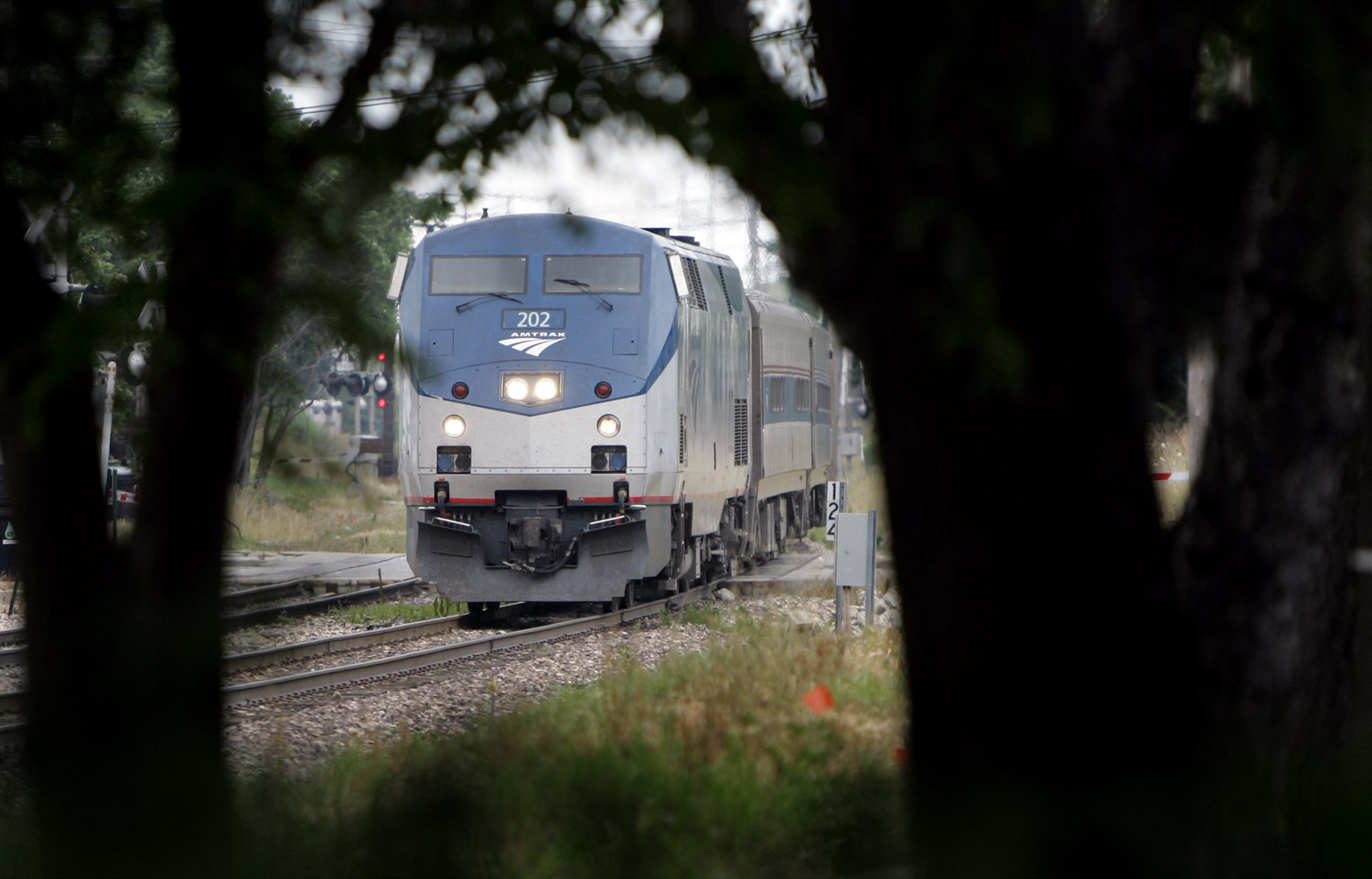 """As >Americans """"We love writing, and we love trains, and we love them both together."""""""