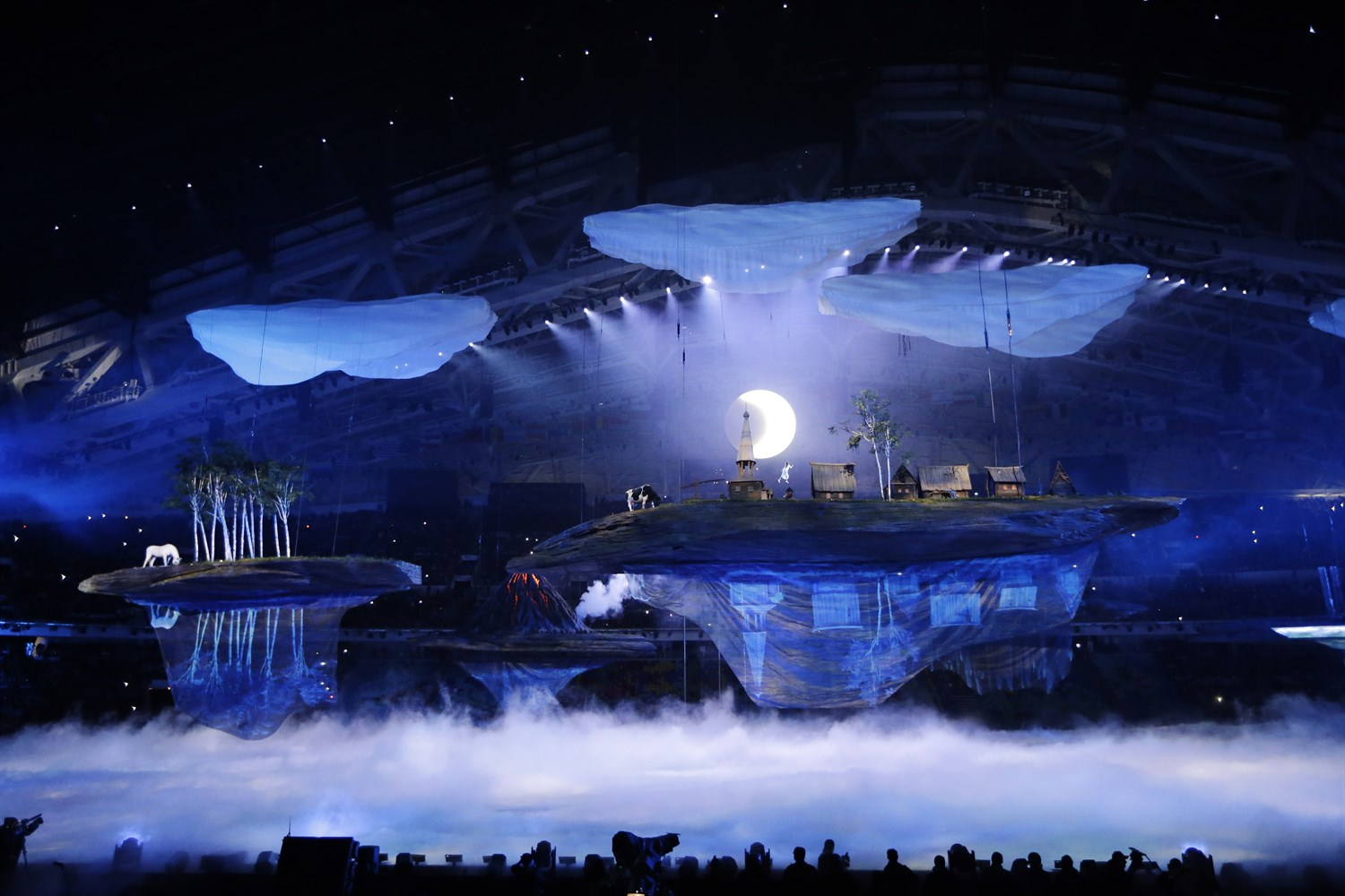 It was an impressively beautiful opening ceremony,