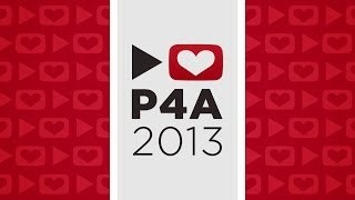 Congratulations to everyone involved with P4A