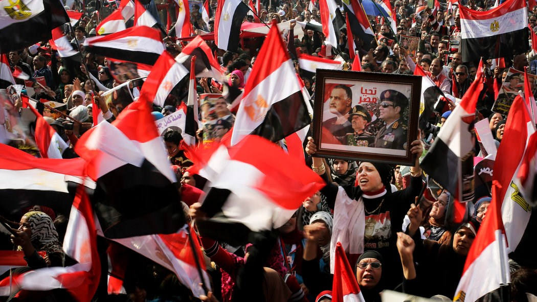 We're disturbed by the weekend's violence in Egypt