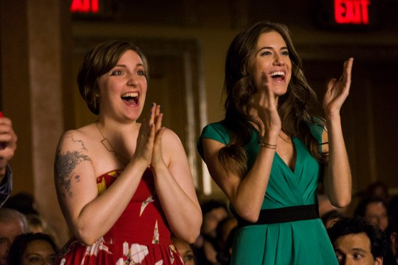 The 'Girls' finale was a great way to end a great season!  (And we're still hoping to find Marnie's entire 'What I Am' video somewhere.)