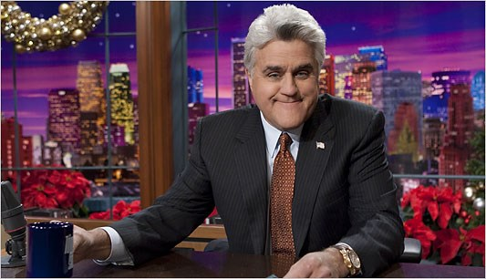 Farewell (again) to Jay Leno! We'll remember him fondly as somewhat conniving and somewhat funny.  Until next time (we say farewell) Jay!